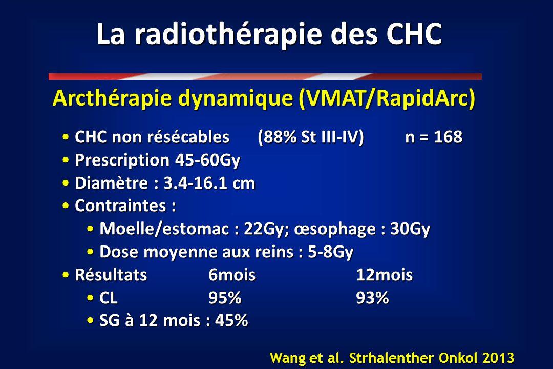 La radiothérapie des CHC