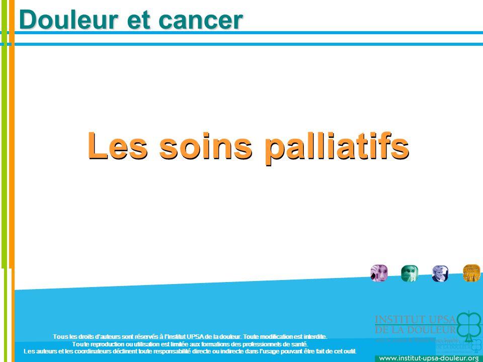 Les soins palliatifs Douleur et cancer