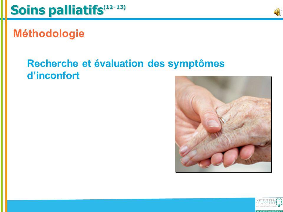 Soins palliatifs(12- 13) Méthodologie