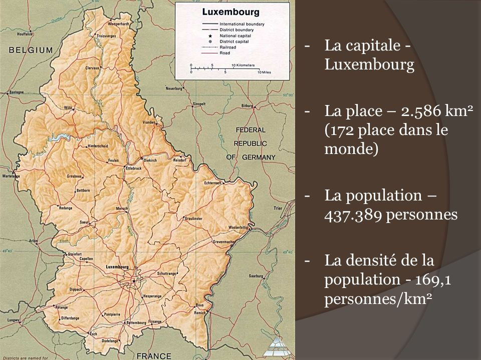 - La capitale - Luxembourg