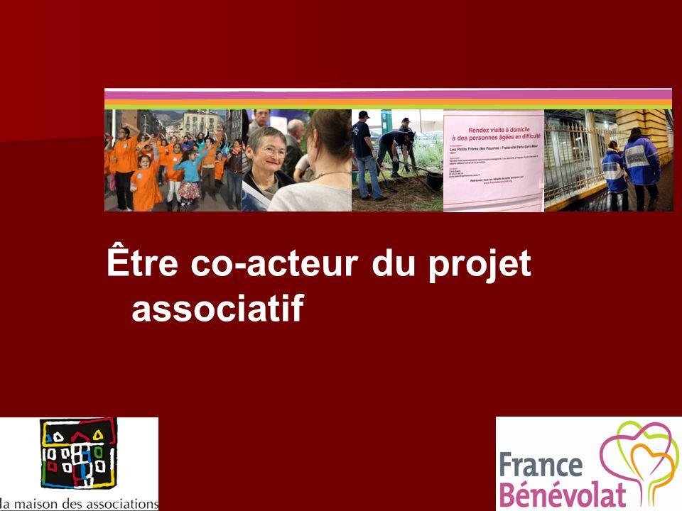 Être co-acteur du projet associatif