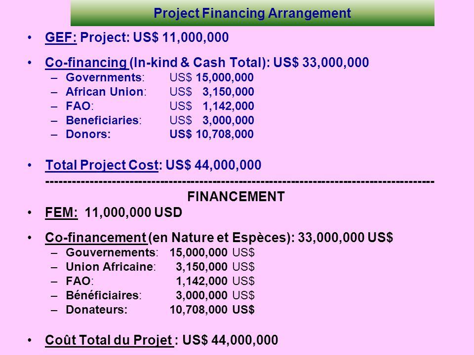 Project Financing Arrangement
