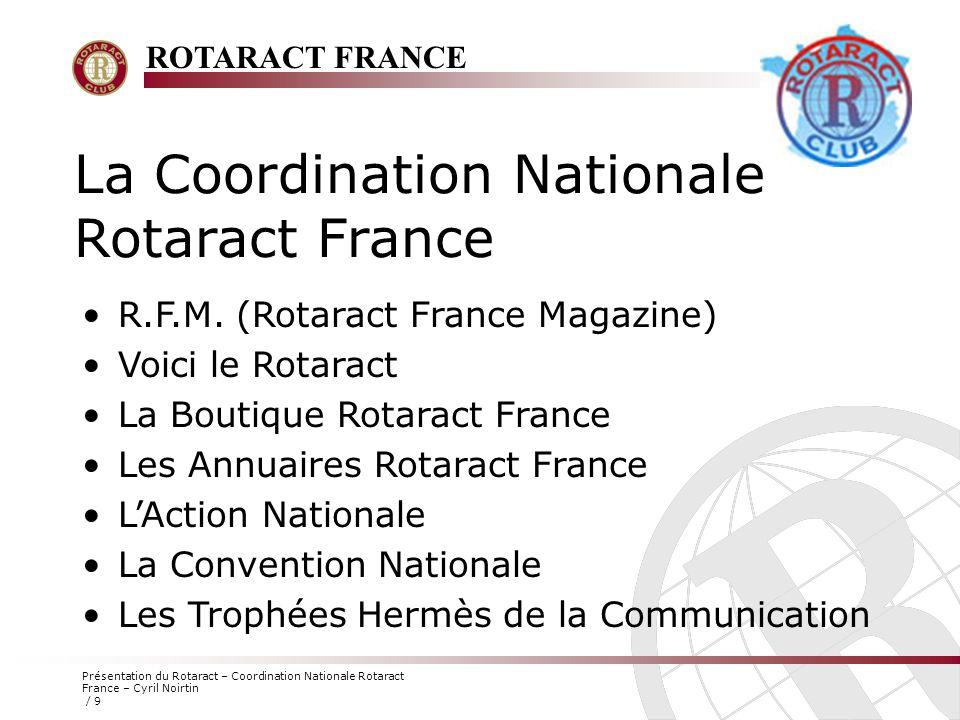 La Coordination Nationale Rotaract France