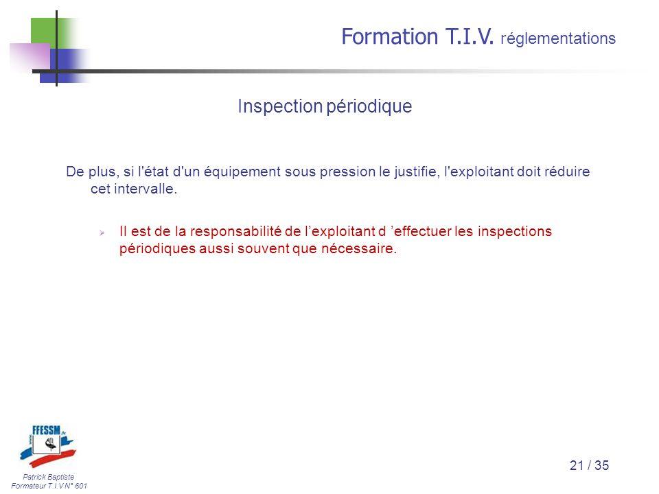 Inspection périodique