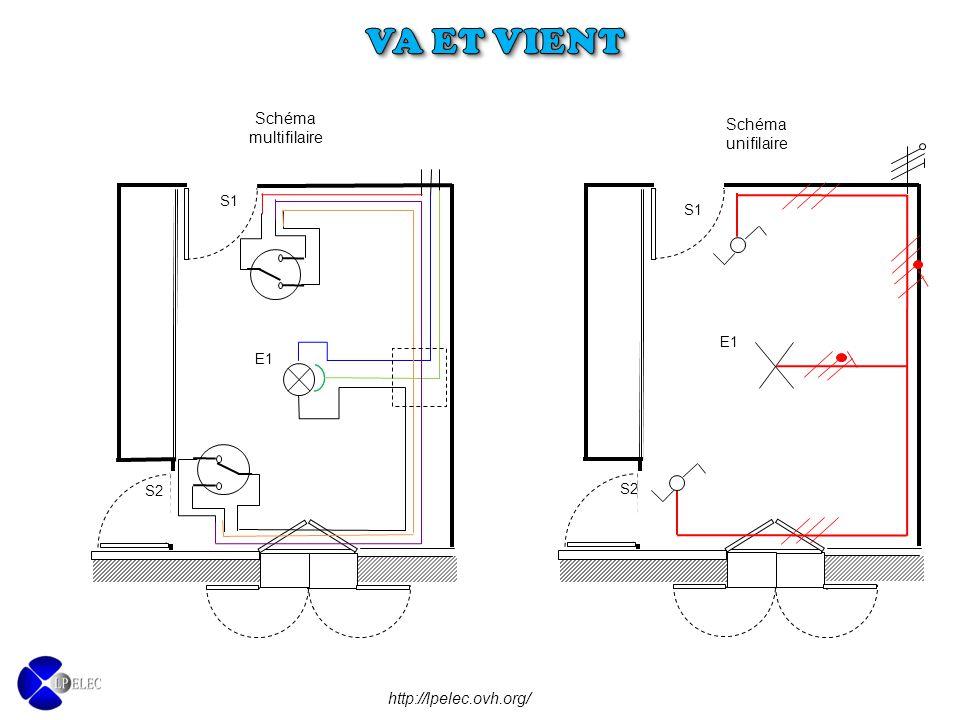Va et vient objectifs prendre connaissance des consignes relatives l installation d un - Schema va et vient electrique ...
