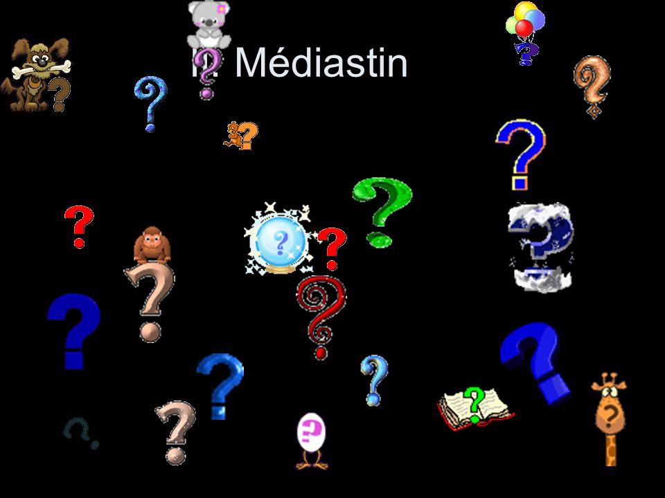 II. Médiastin