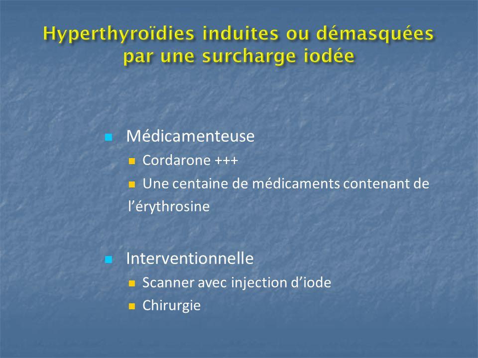 Médicamenteuse Interventionnelle Cordarone +++