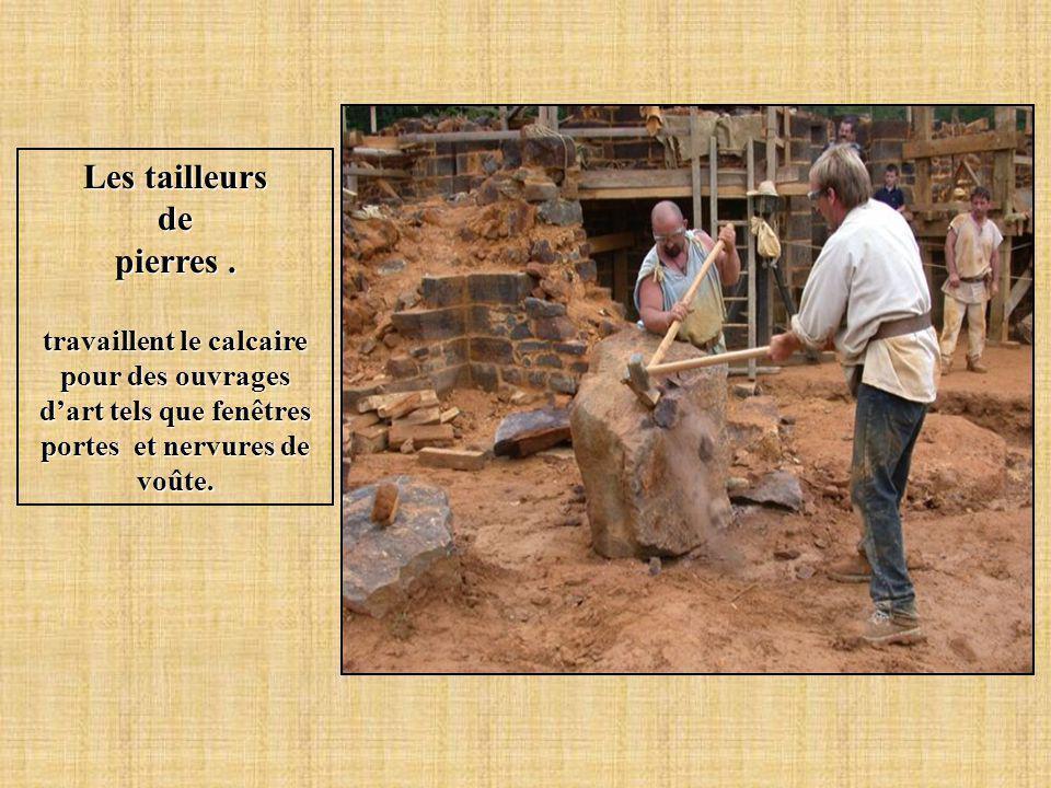 Les tailleurs de pierres .
