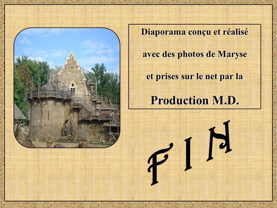 F I N Production M.D. Diaporama conçu et réalisé