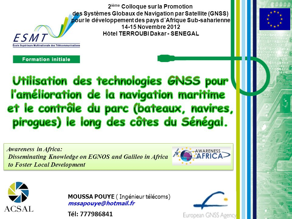 Utilisation des technologies GNSS pour