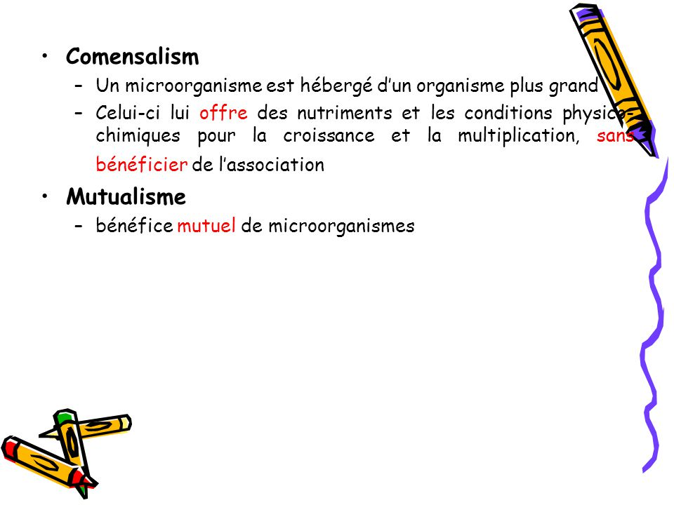 Comensalism Mutualisme