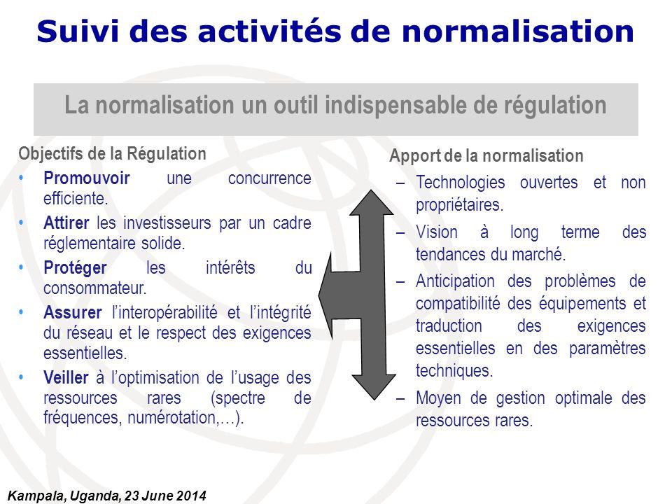 La normalisation un outil indispensable de régulation