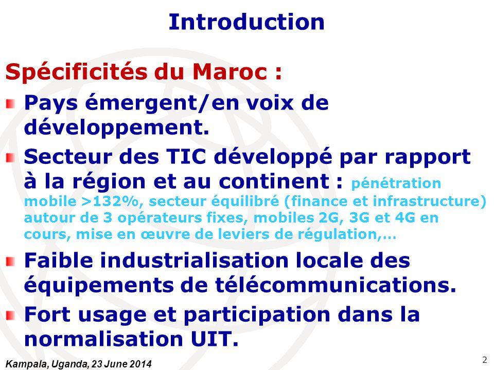 Spécificités du Maroc :