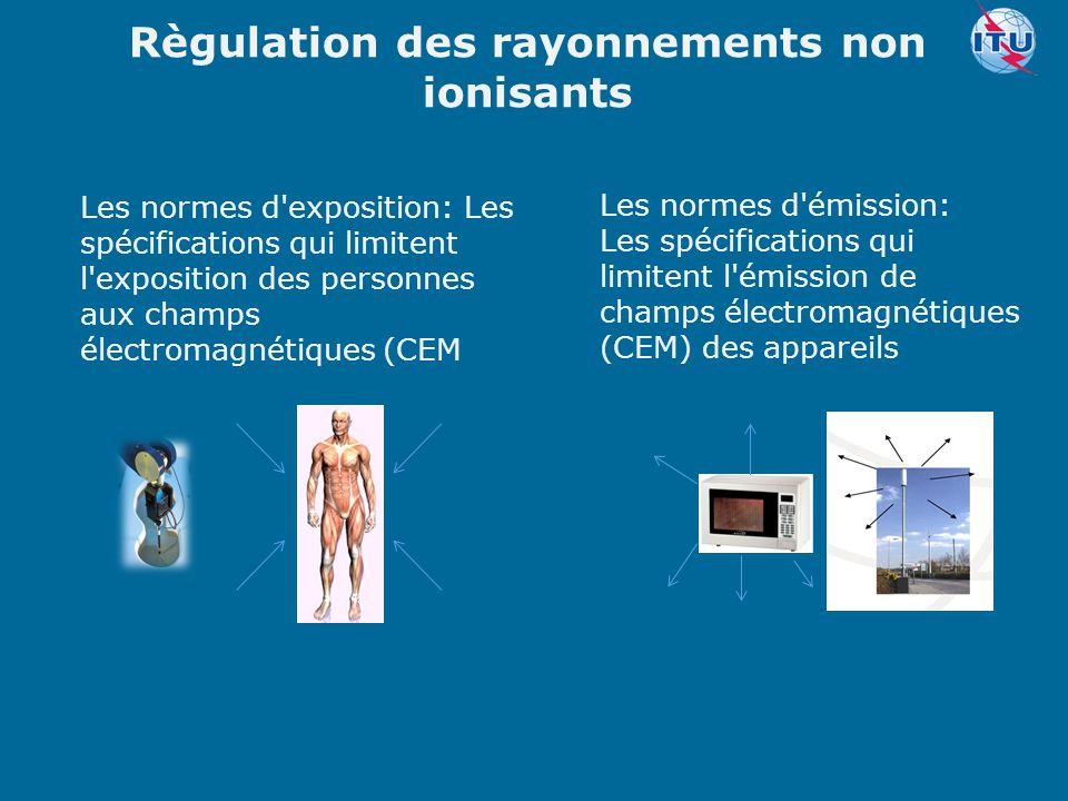 Règulation des rayonnements non ionisants