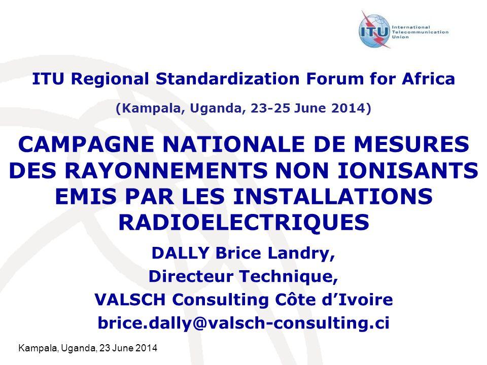 ITU Regional Standardization Forum for Africa