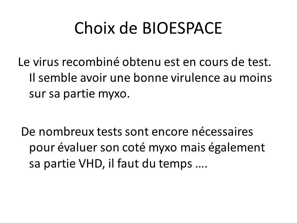 Choix de BIOESPACE
