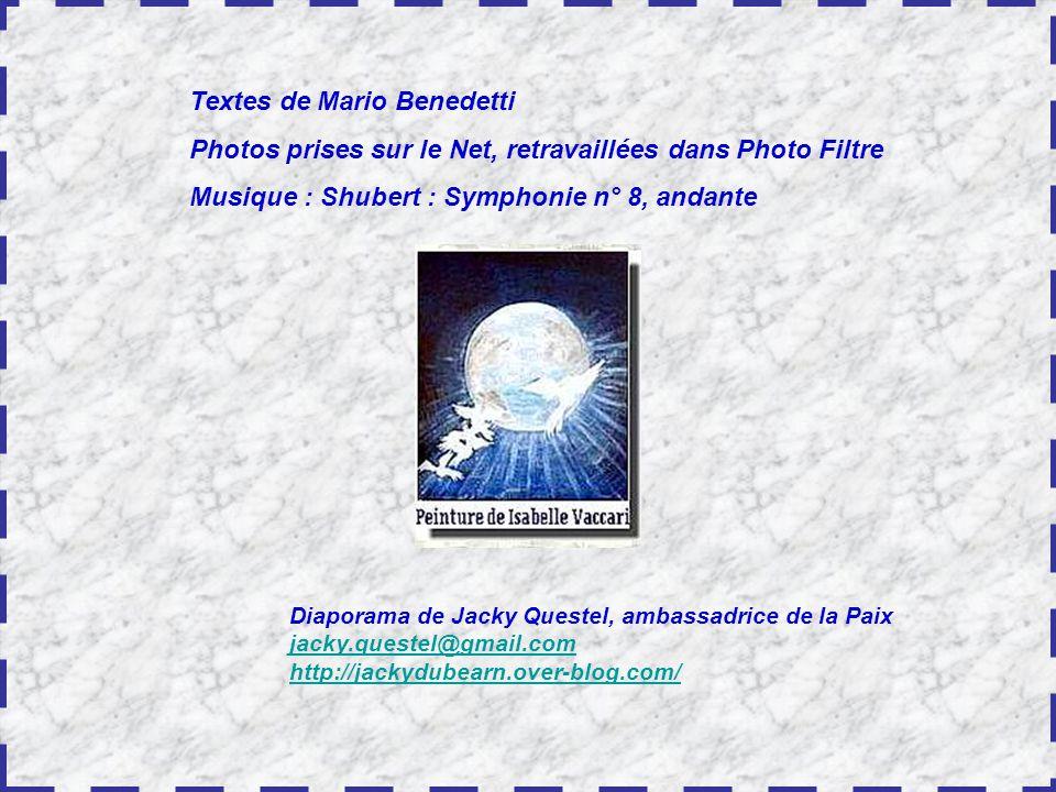 Textes de Mario Benedetti