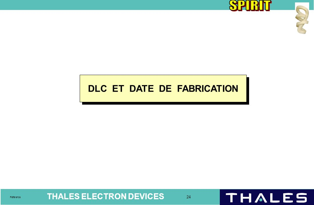 DLC ET DATE DE FABRICATION