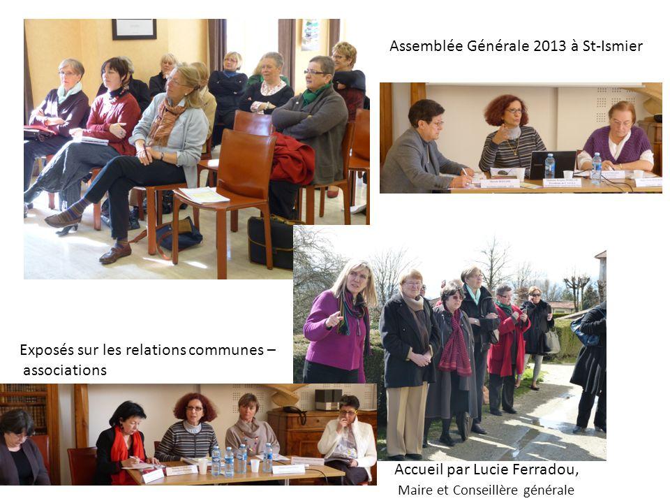 Assemblée Générale 2013 à St-Ismier