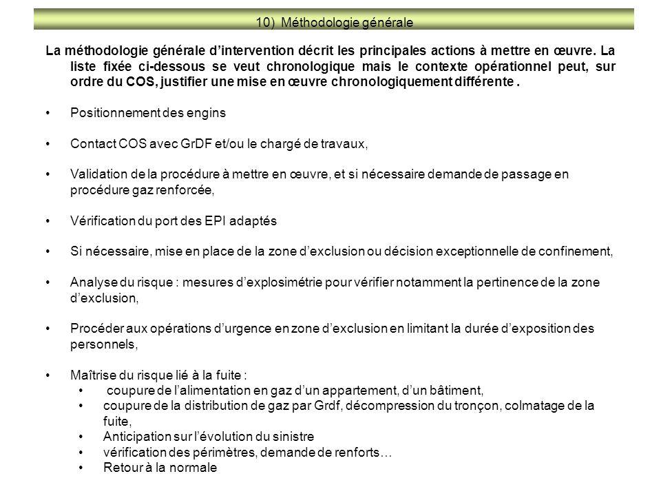 10) Méthodologie générale