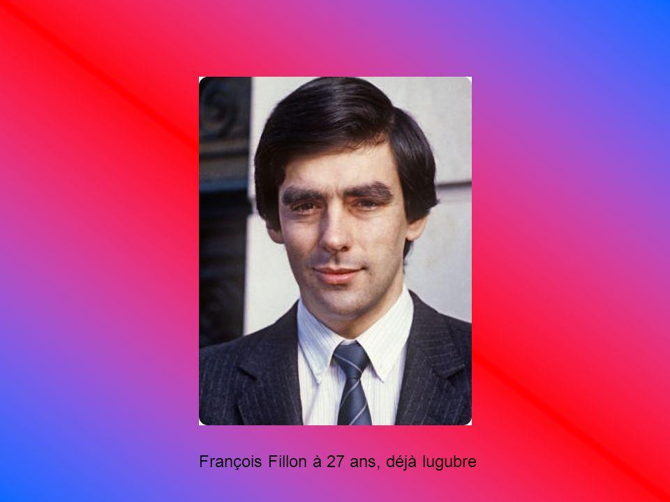 François Fillon à 27 ans, déjà lugubre