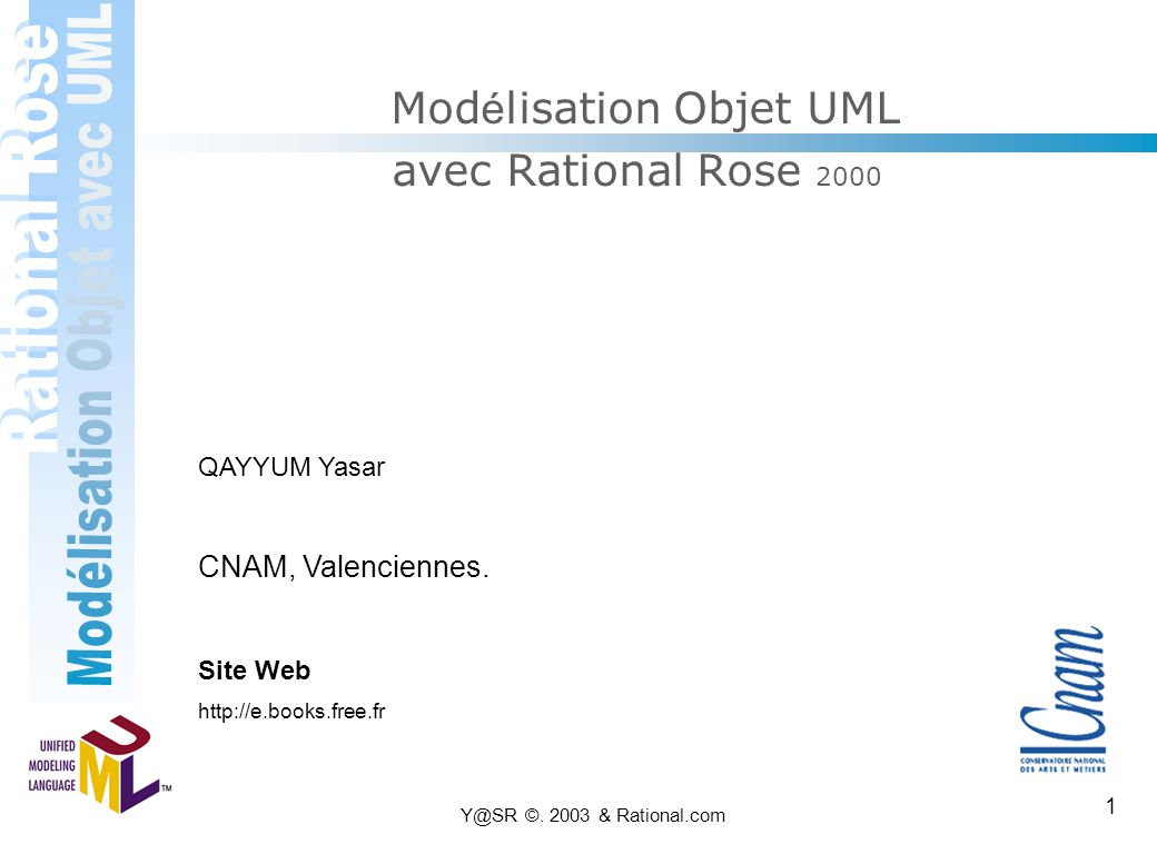 Modélisation Objet UML avec Rational Rose 2000