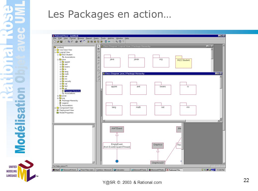 Les Packages en action…