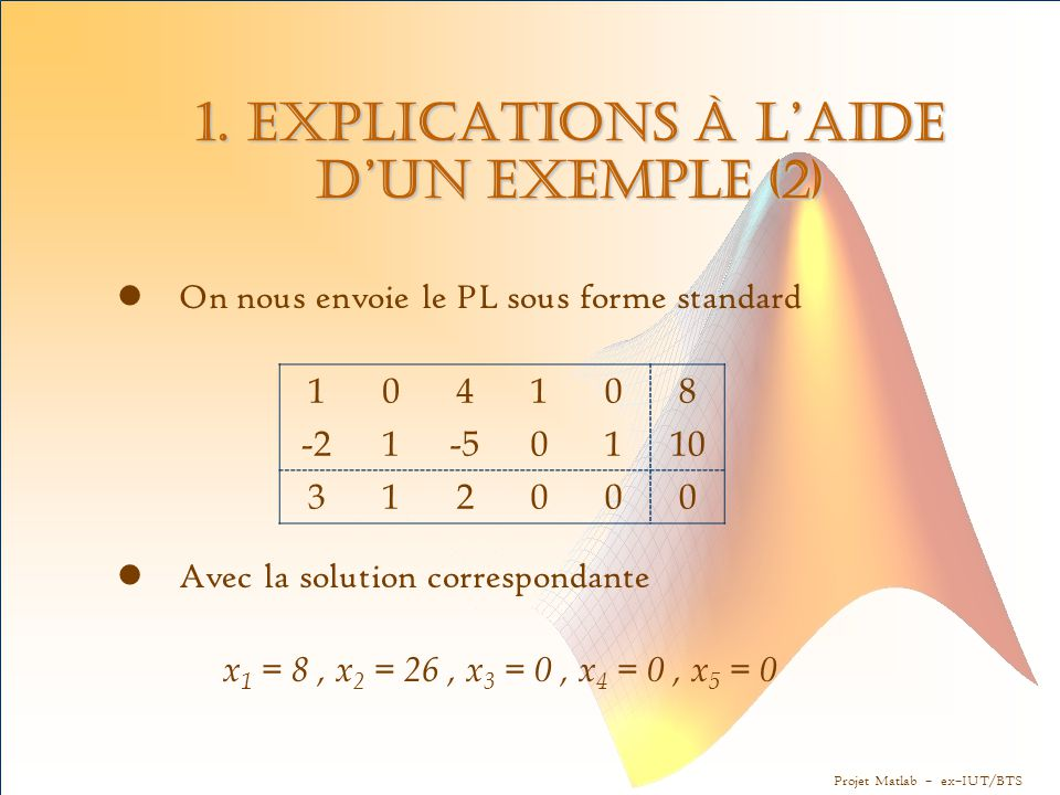1. Explications à l'aide d'un exemple (2)