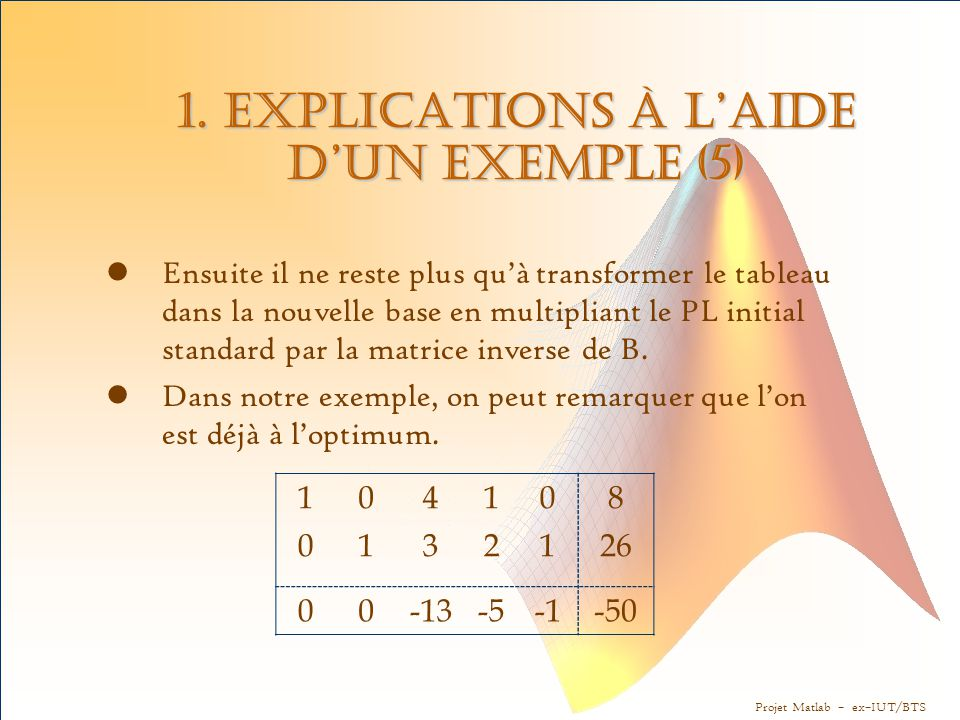 1. Explications à l'aide d'un exemple (5)