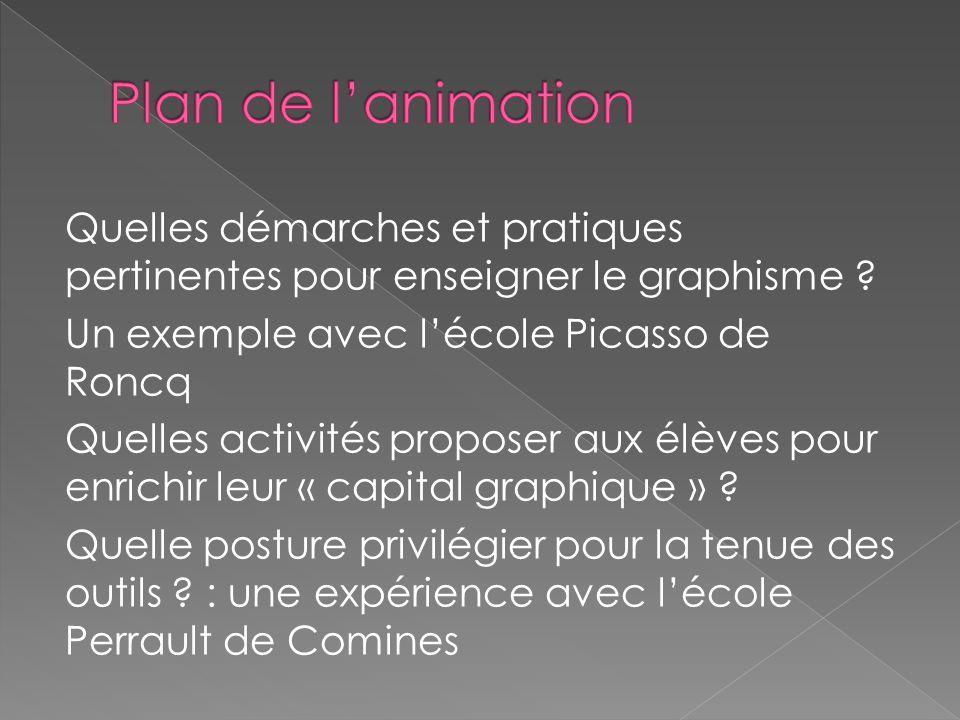 Plan de l'animation