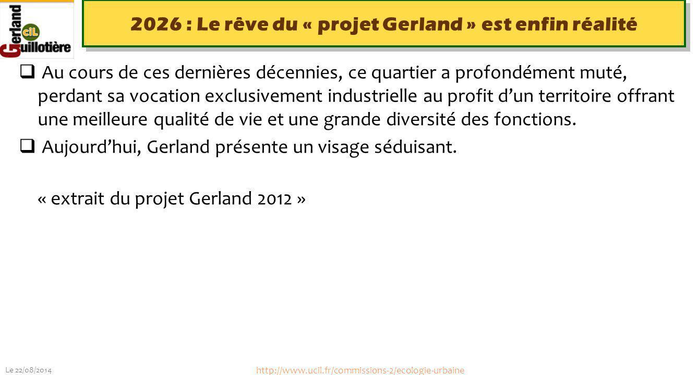 2026 : Le rêve du « projet Gerland » est enfin réalité