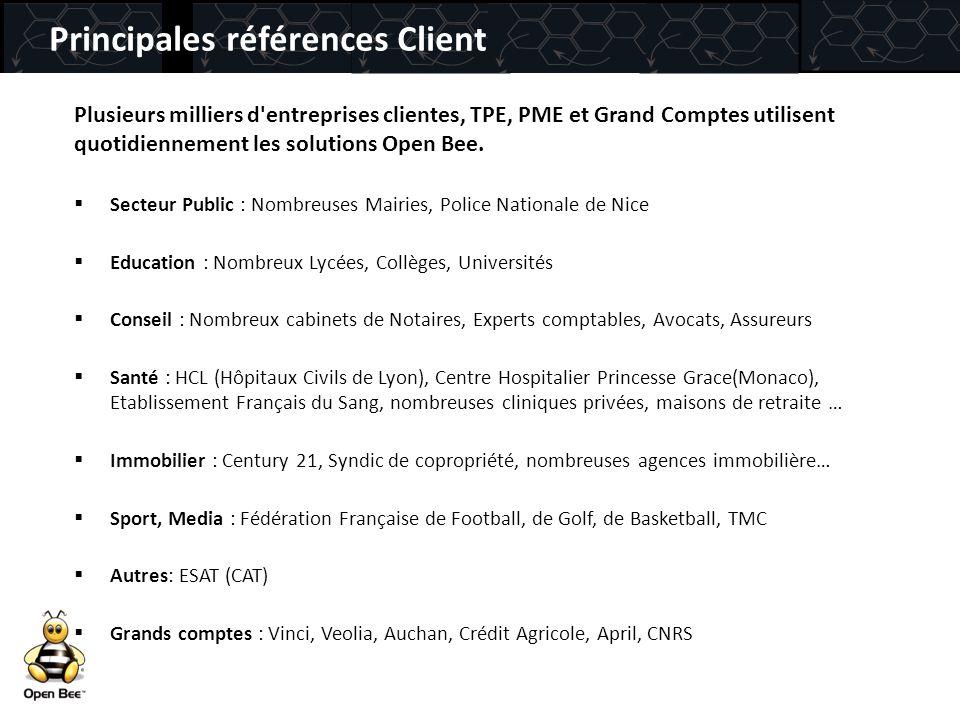 Principales références Client