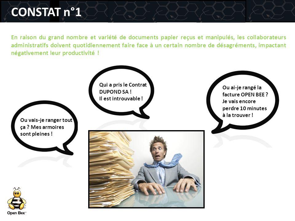 CONSTAT n°1