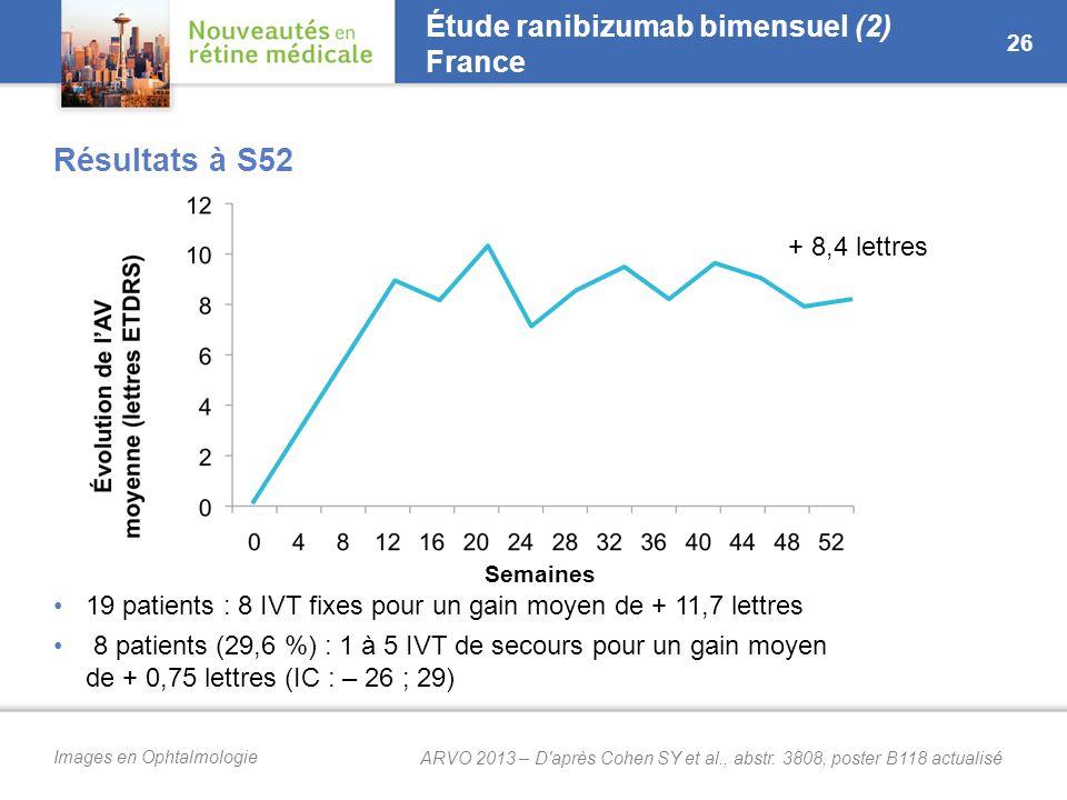 Étude ranibizumab bimensuel (3) France
