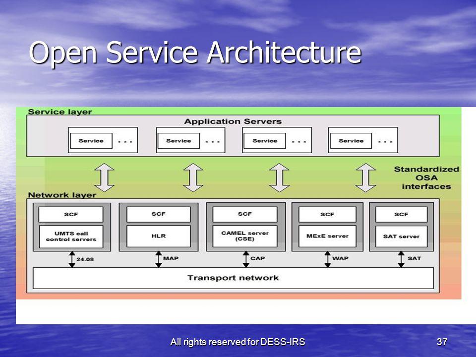Open Service Architecture