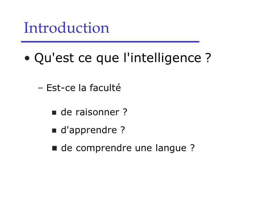 Chapitre I : Introduction à l IA