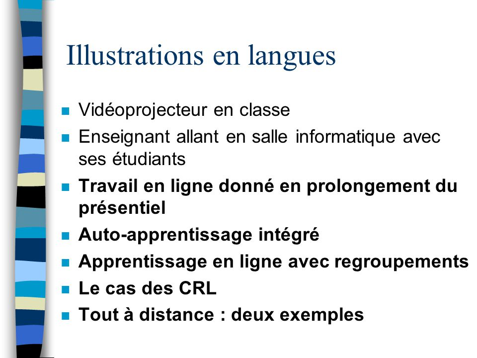 Illustrations en langues