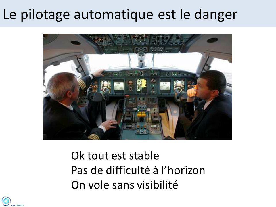 Le pilotage automatique est le danger