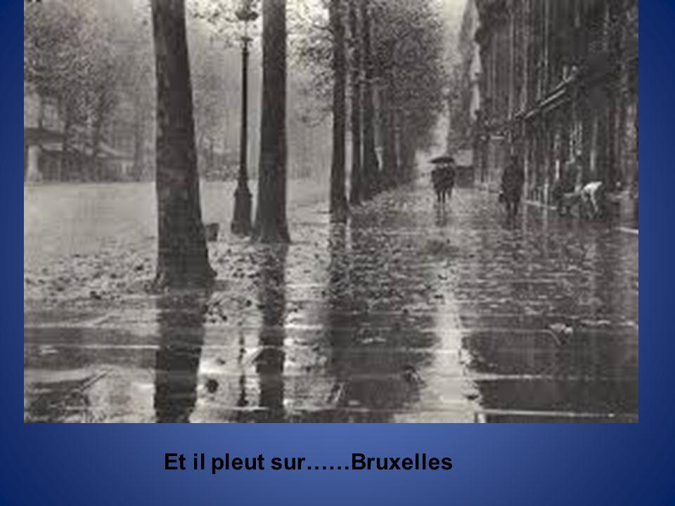 Et il pleut sur……Bruxelles