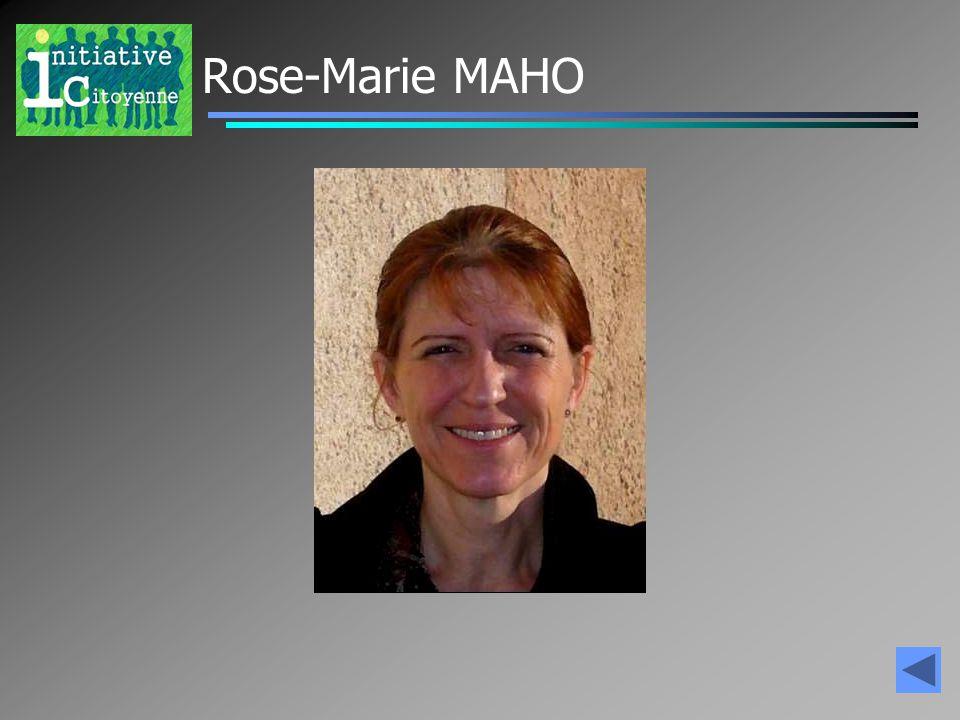 Rose-Marie MAHO