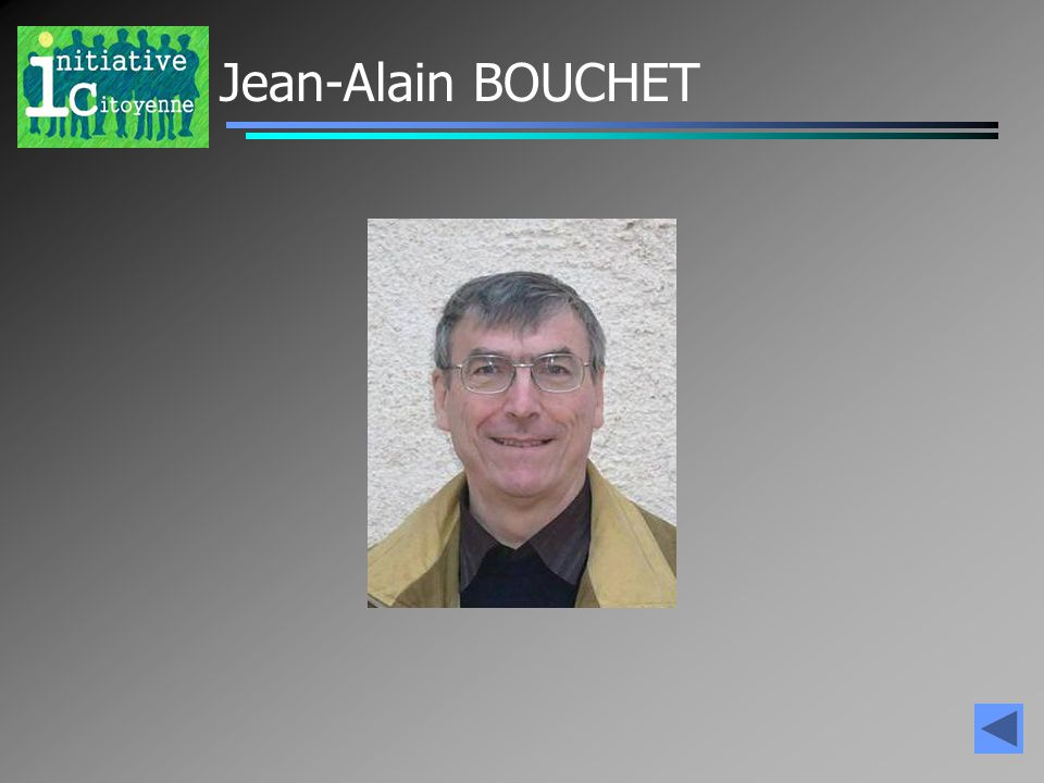 Jean-Alain BOUCHET