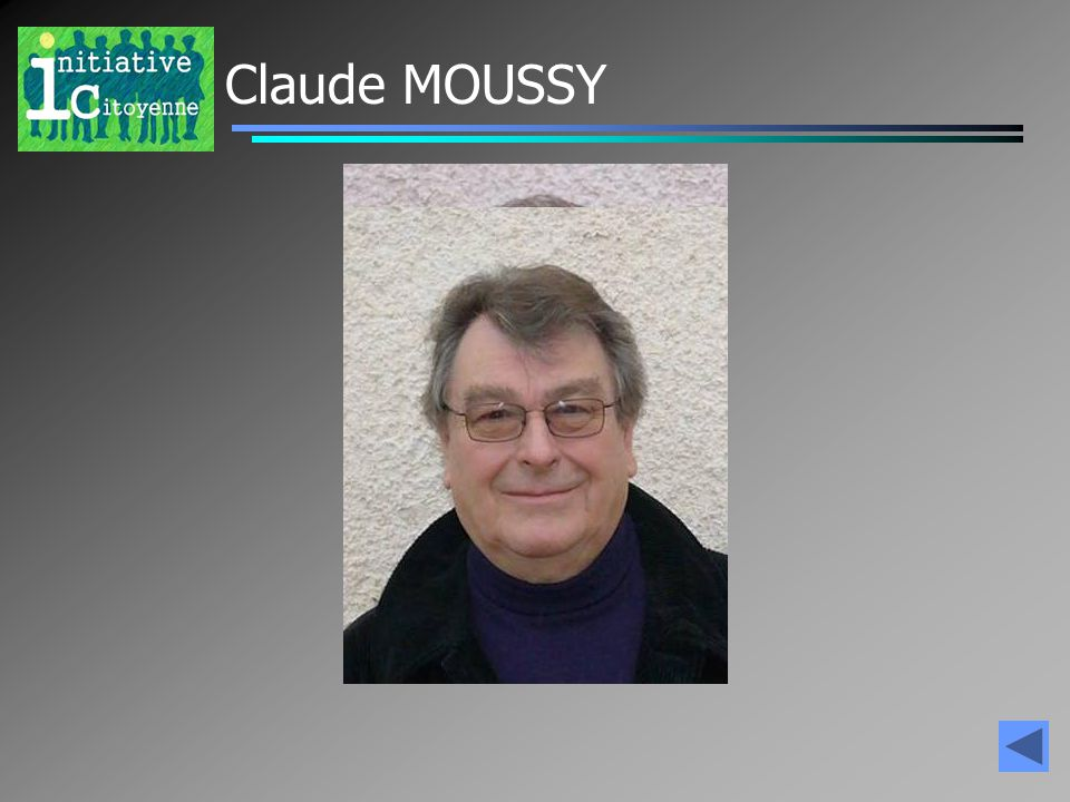 Claude MOUSSY