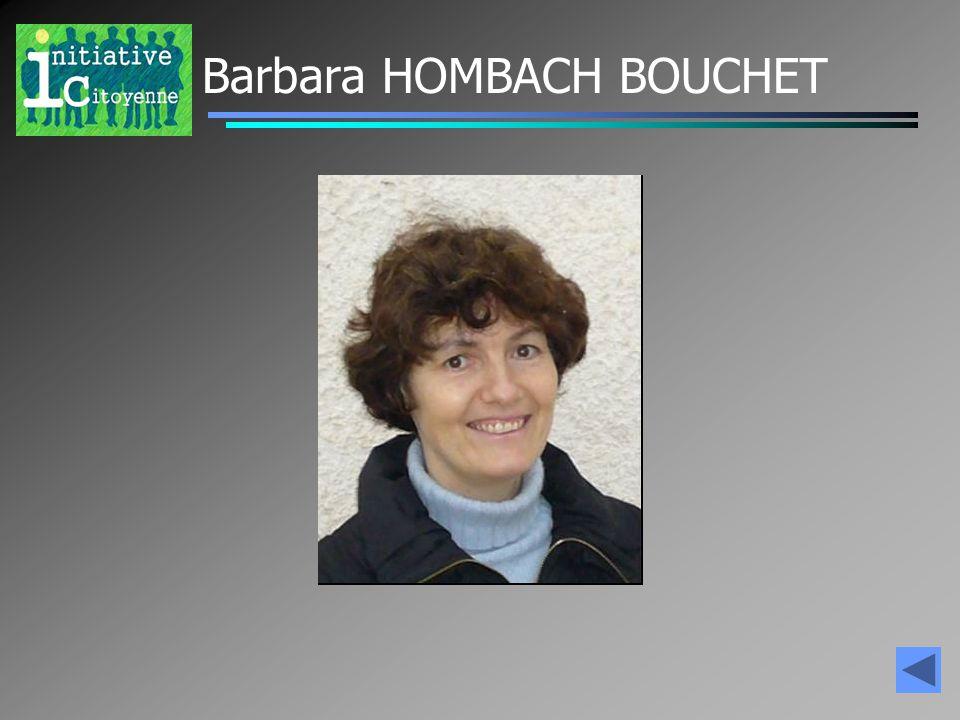 Barbara HOMBACH BOUCHET