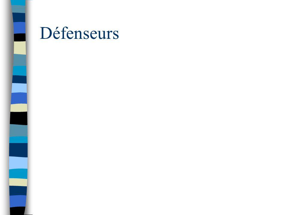 Défenseurs