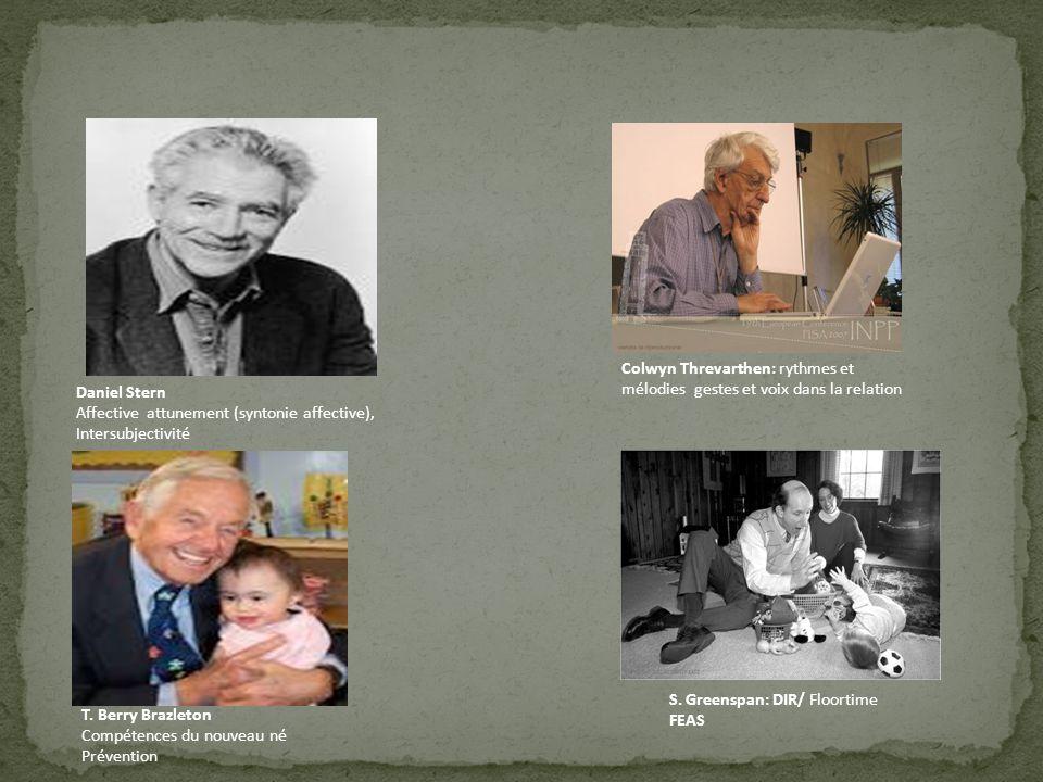 Colwyn Threvarthen: rythmes et mélodies gestes et voix dans la relation