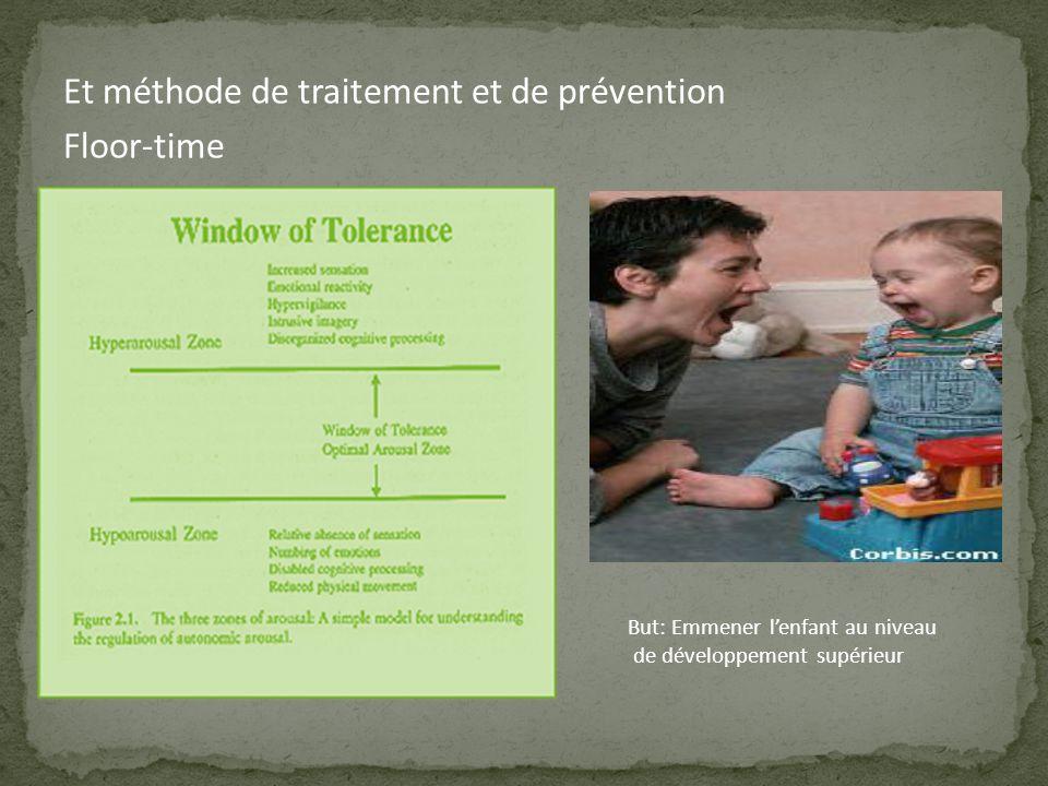 Et méthode de traitement et de prévention Floor-time