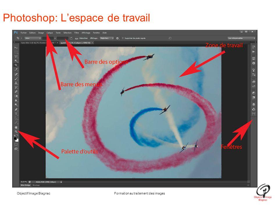 Photoshop: L'espace de travail