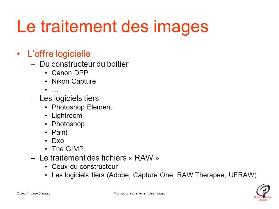 Le traitement des images