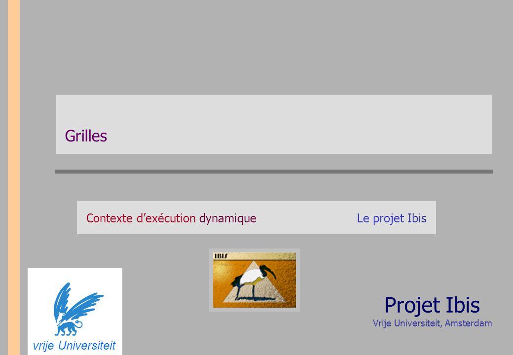 Contexte d'exécution dynamique Le projet Ibis