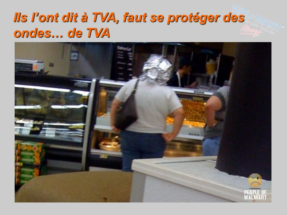 Ils l'ont dit à TVA, faut se protéger des ondes… de TVA